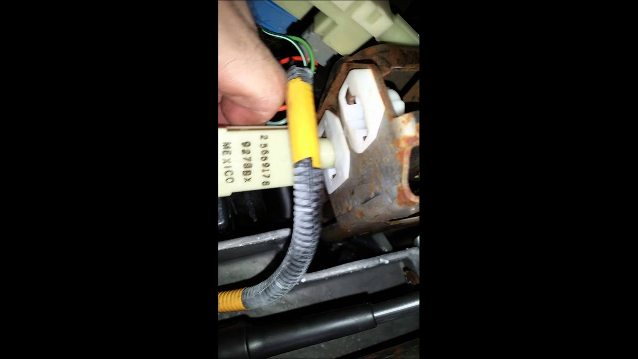 Replacing A Flasher On Buick Park Avenue Part 1 Youtube Unit Wiring