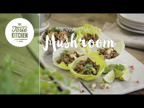 TK Superfood Series - 4 Ways with Mushrooms