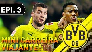 DORTMUND CONTRA TODOS! DISPUTA ATÉ O FINAL! | Mini Modo Carreira Viajante #3 - FIFA 18 - Dortmund