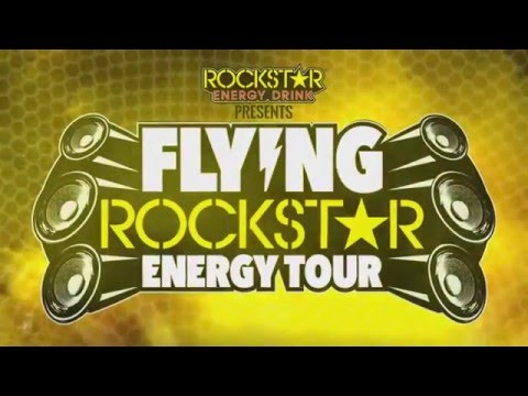 Flying Rockstar Energy Tour 2016
