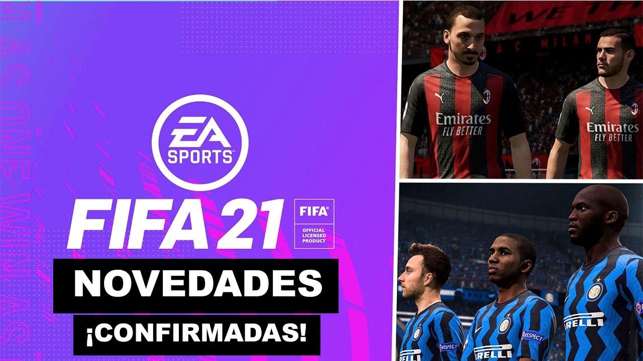 SE CONFIRMA ESTA NOVEDAD PARA FIFA 21 *Milan e Inter del Milan NUEVOS PARTNERS*