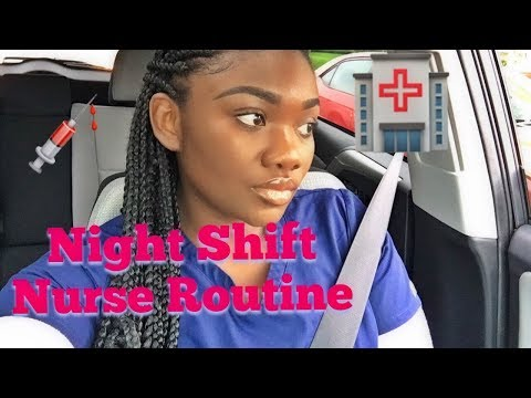 Night Shift Nurse Routine + Tips To Survive Night Shift!