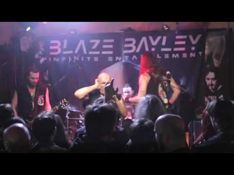 Blaze Bayley with Manhunt (wolfsbane)