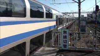 JR君津駅を発着する列車
