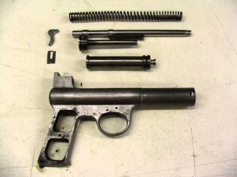 Webley Air Pistol Restoration.