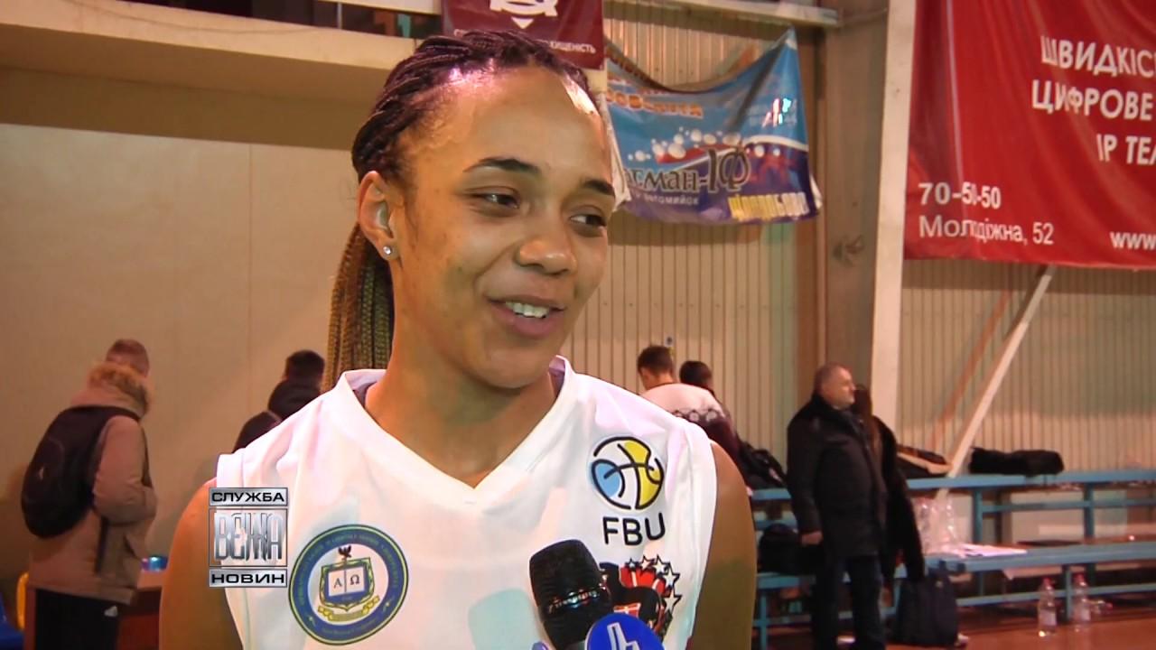 Франківські баскетболістки вибороли дві домашні перемоги (відеосюжет)
