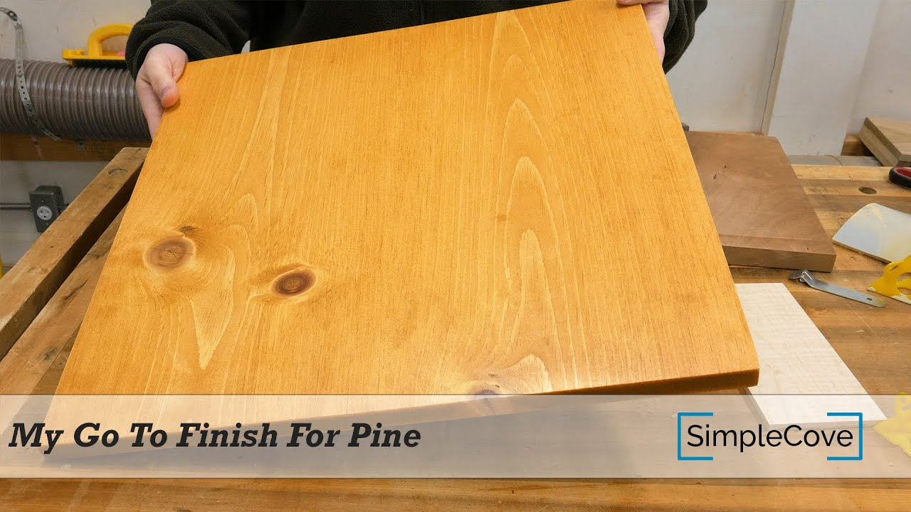 Quick And Easy Stain For Pine That