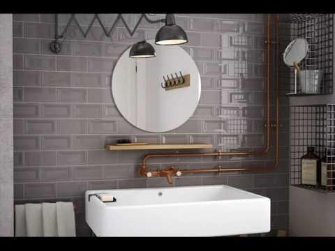 Metro Tiles Bathroom Design Ideas - YouTube