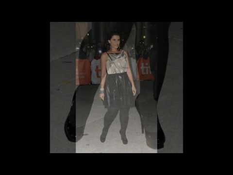 Nelly Furtado`s Legs and Feet in Tights