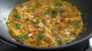 Corn Chowder - How To Make This Delicious And Sweet Corn Chowder.-pekiskitchen