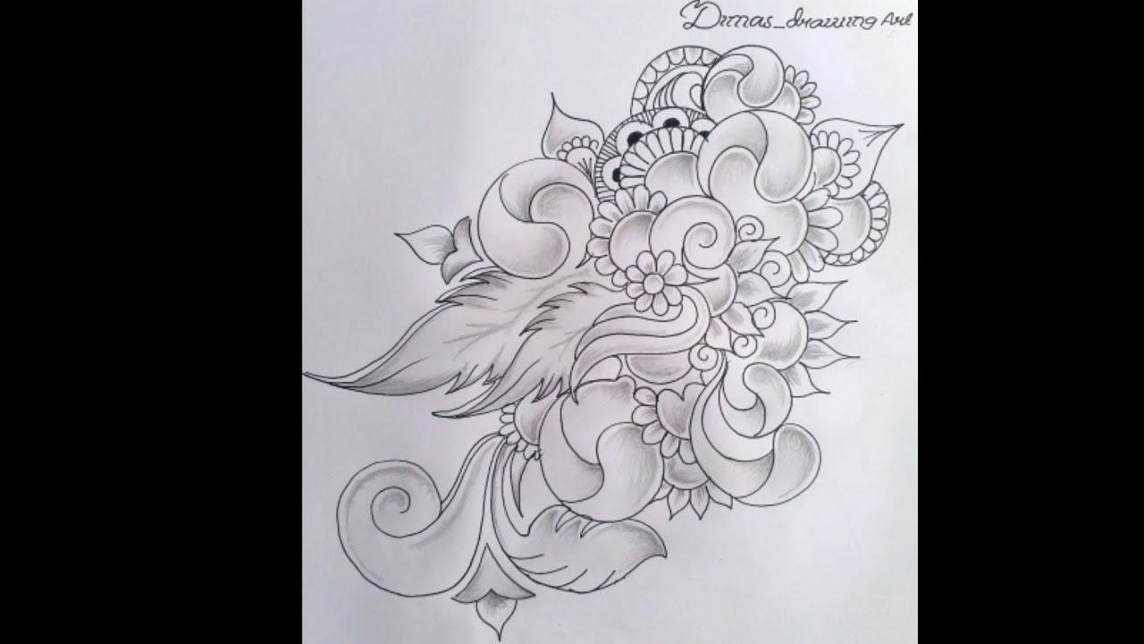 Membuat Motif Tato Dan Motif Dekorasi Dengan Simpel