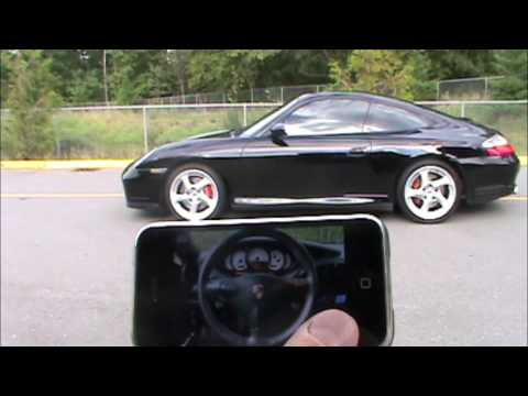 Coolest iPhone App Ever - iPorsche Remote - Must See !!!