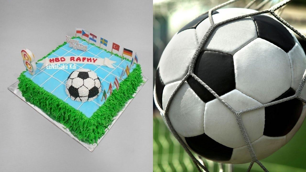 How To Make Football Cake Video