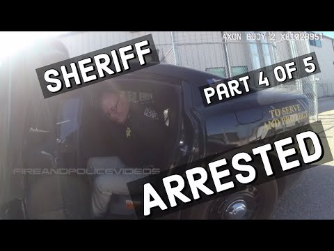 Full Video of Arrest: Out of Control Sheriff James Lujan by Police Caught on Video!!! (Part 4 of 5 )