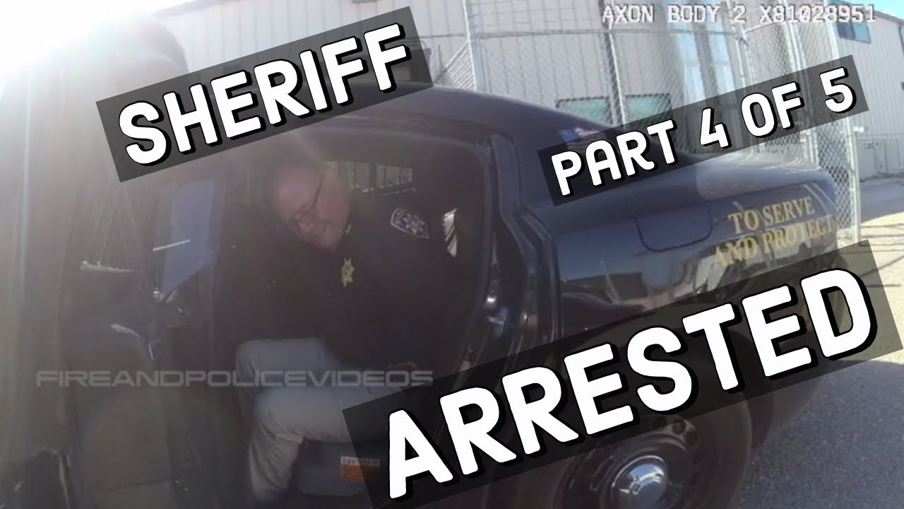 Full Video of Arrest: Out of Control Sheriff James Lujan by Police Caught on Video!!!