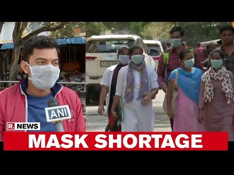 Hyderabad Faces Shortage Of Masks Amid Coronavirus Scare