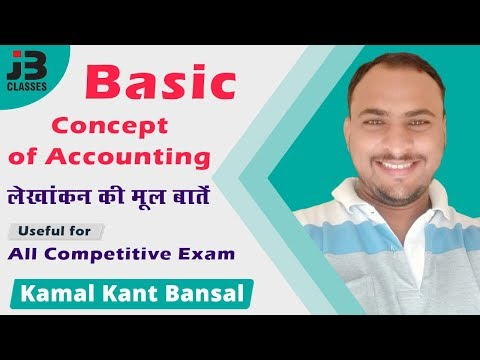 Basic Concept of Accounting | लेखांकन की मूल बातें | Apex Bank | By Kamal Kant Bansal