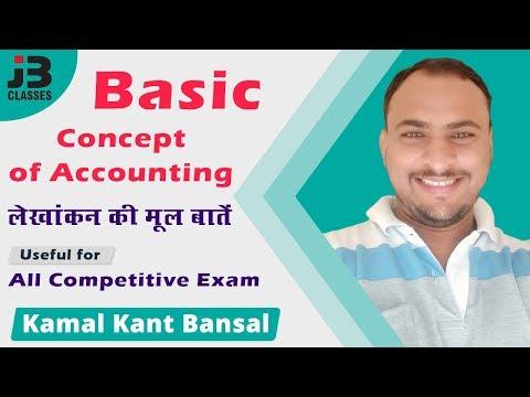 Basic Concept of Accounting | लेखांकन की मूल बातें | Apex Bank | By Kamal Kant Bansal