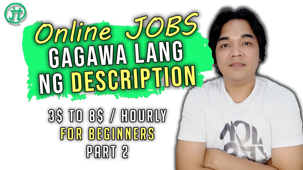 Description Wititing Work From Home | Online Jobs At Home Philippines Part 2