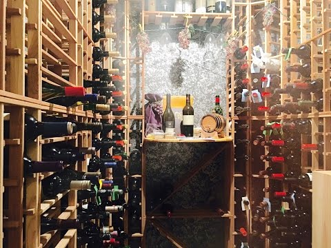 AWESOME HOME WINE CELLAR TOUR!!!