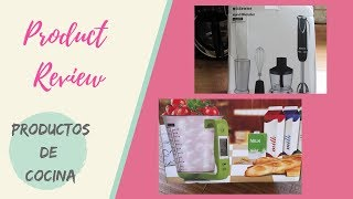 Product review| productos de cocina