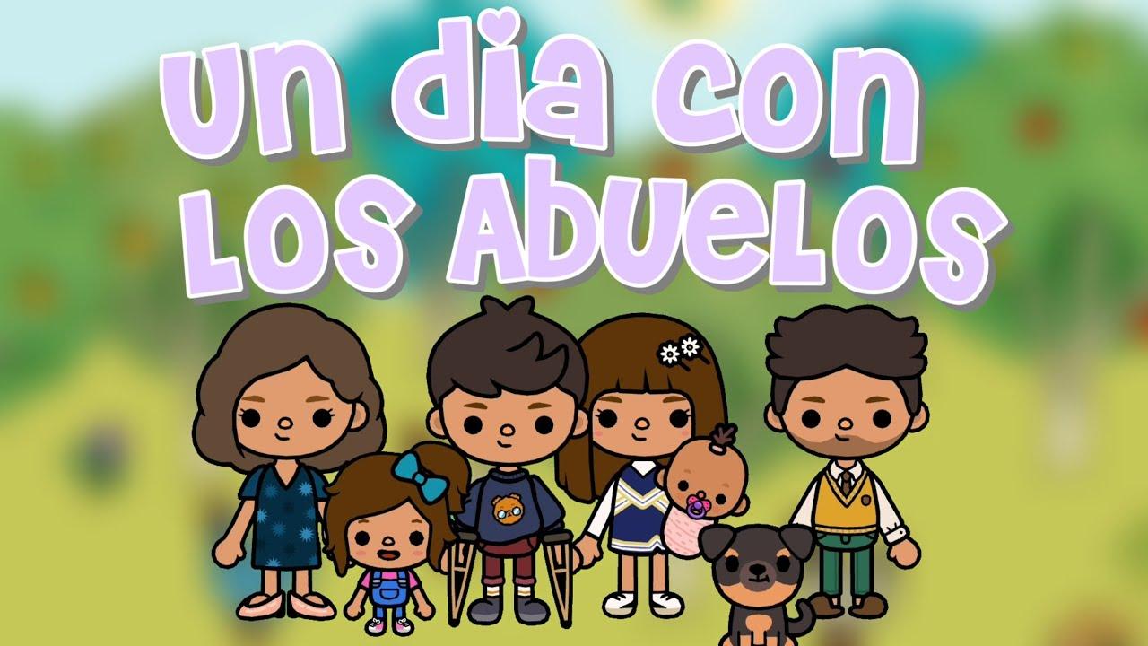 Un día con los Abuelos👵🏼👴🏼💗 |Toca Cam!| Día de Familia
