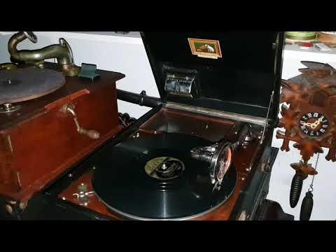 It's Foolish But It's Fun. HMV early 101 Portable Gramophone