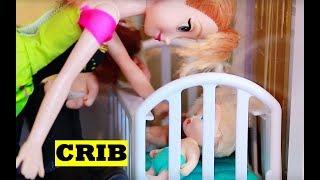 Frozen Kids as Babies Toby Disney Princess Play-Doh Baby Toby Kristoff  Barbie Parody