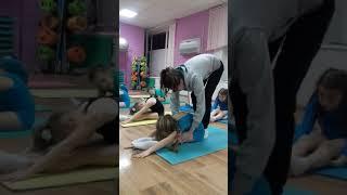 Детская гимнастика дома . Урок №4