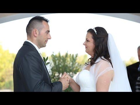 Zsuzsa és Sanyi esküvői felvételei Nyírtasson a Magyar Talléros Rendezvényházban