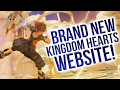 BRAND NEW KINGDOM HEARTS WEBSITE With A Couple of Interesting Details!