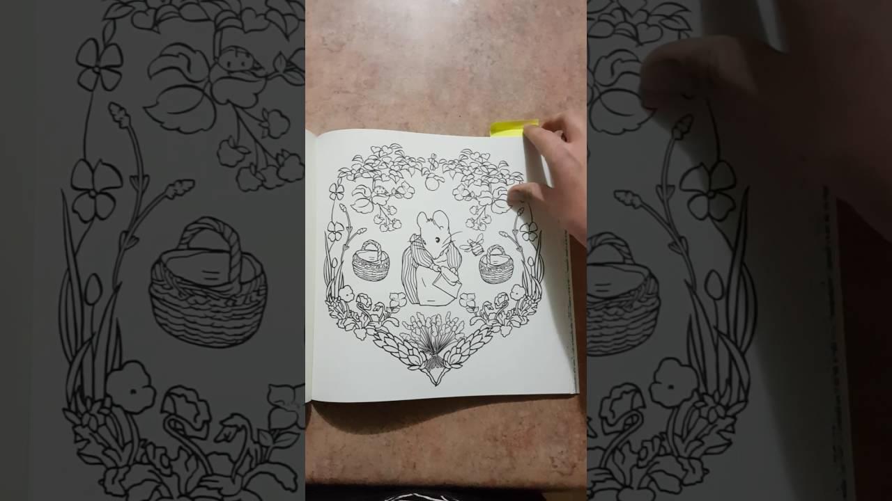 - Beatrix Potter Colouring Book - Flipthrough - YouTube