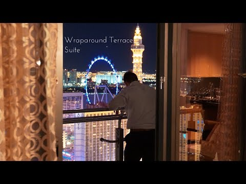 cosmopolitan of las vegas wraparound terrace suite walkthrough
