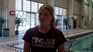 SWIM: Amy Burgess SBC Championships Preview Interview