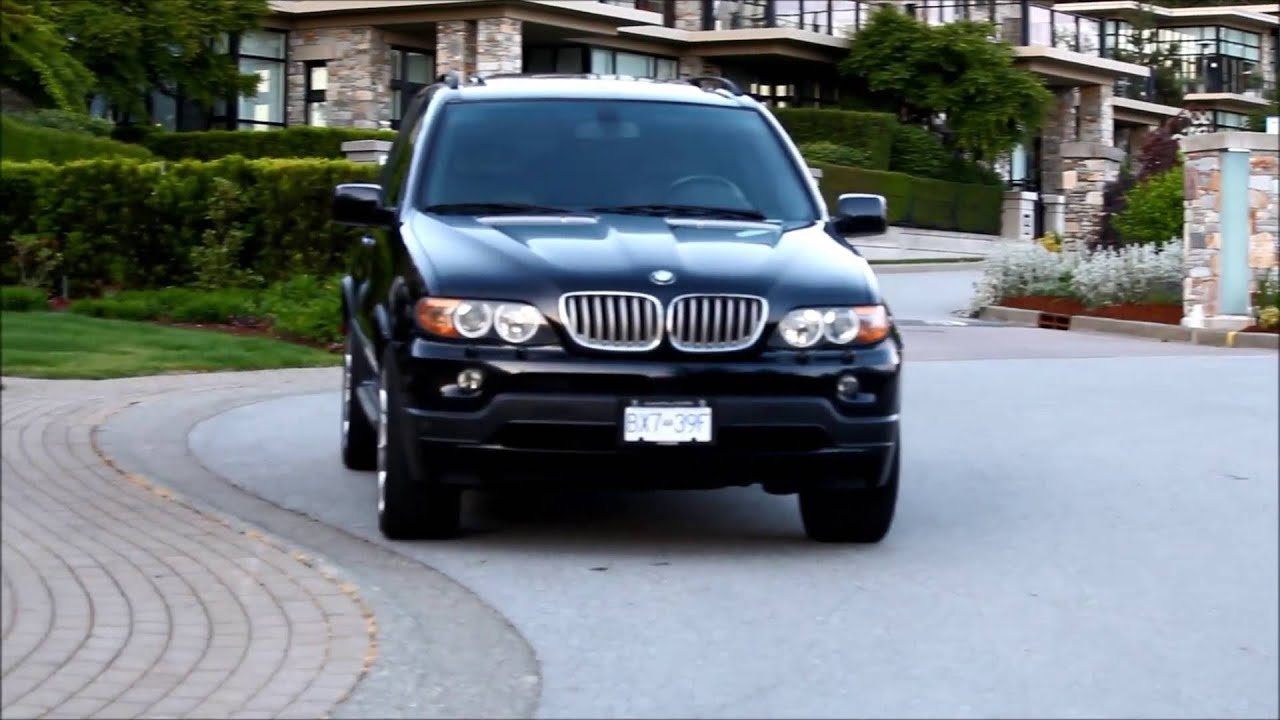 2006 Bmw X5 4 8is Start Up  Revs  Acceleration