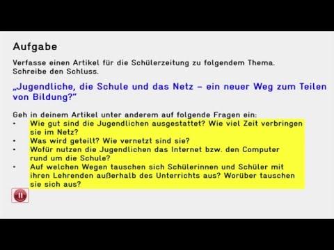 Wie Du Den Schluss Eines Informativen Textes Schreibst Deutsch 9