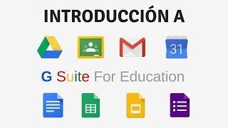 Google Classroom G Suite for education Primeros Pasos | Parte 1 de 4