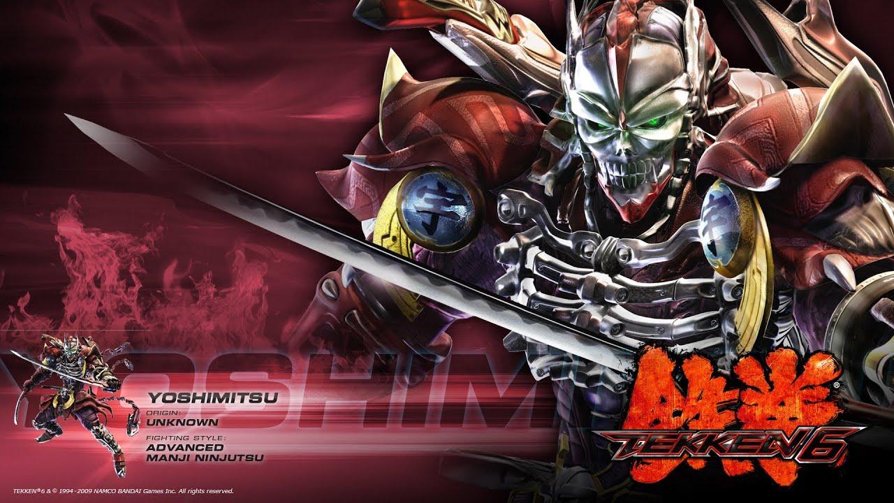 Tekken 6 Psp Yoshimitsu Moves Youtube