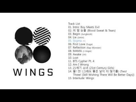 BTS (방탄소년단) | Wings [Full Album]