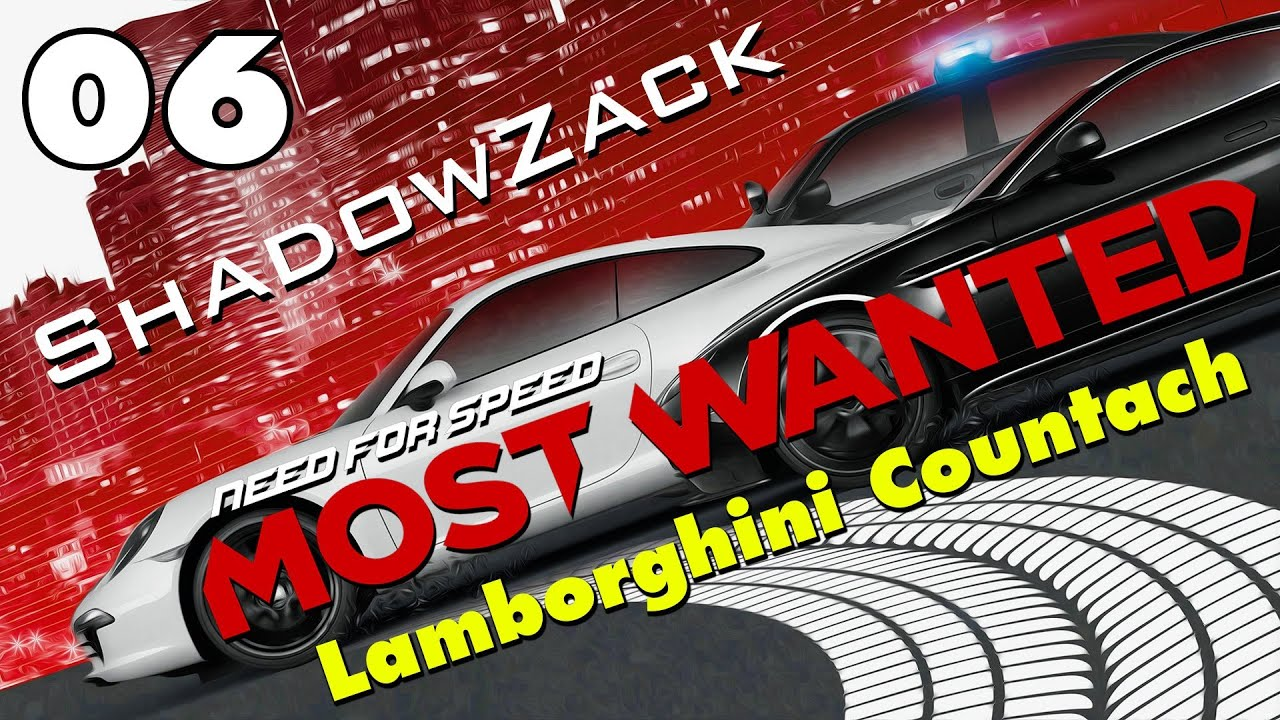 need for speed most wanted part 6 lamborghini countach youtube. Black Bedroom Furniture Sets. Home Design Ideas