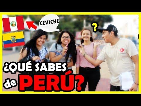 ¿Qué piensan de PERÚ los Ecuatorianos? Esto dicen... ft. Wallas Da Silva | Peruvian Life