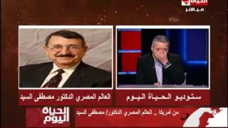 شاهد.. أول تصريح من العالم مصطفى السيد بعد توليه رئاسة جامعة زويل