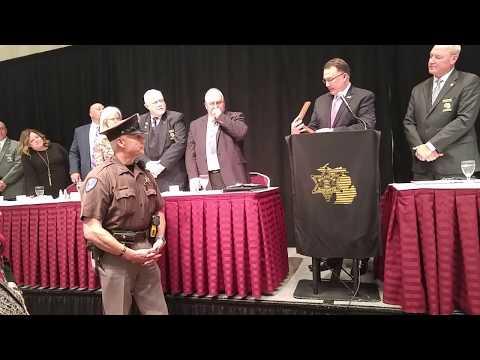 Shiawassee County Deputy Craig Lawson, SRP Deputy of the Year 2017