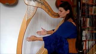 I see fire - Ed Sheeran, The Hobbit - harp cover (arrangement harpe par Evélina Simon)