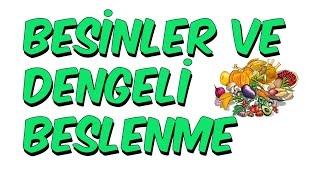 6dk'da BESİNLER VE DENGELİ BESLENME | 6.Sınıf