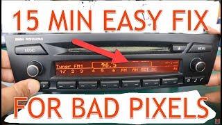 DIY Pixel Repair Instructions for BMW E90, E91, E92 Professional Radio CD73 made by Alpine