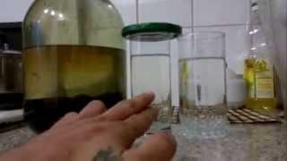 химическая очистка самогона марганцем