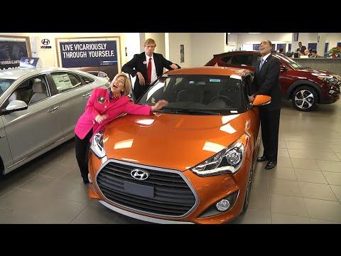 Hyundai Long Island City >> President Barack Obama Agrees With Donald Trump Re 2016 Veloster Hyundai Of Long Island City Ny