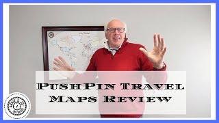 PushPin Travel Maps Review