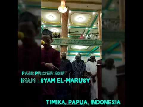 Download Lagu Shalat Subuh ( fajr Prayer) by Ustadz Syam, Surah Al Waqiah verse 1-57